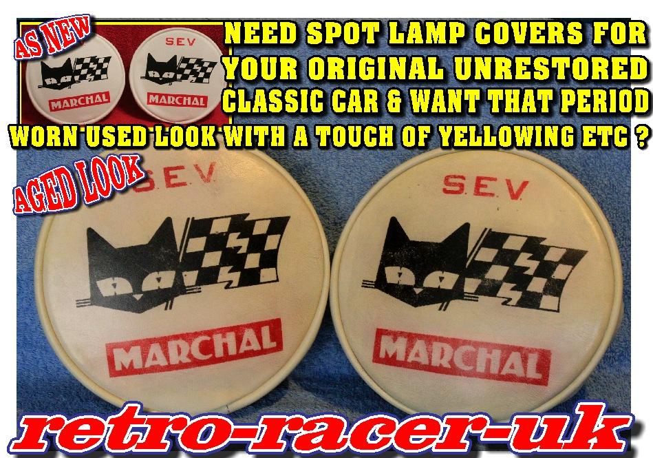 CLASSIC CAR MOTORCYCLE BIKE VAN TRUCK RALLY SPOT FOG LAMP SPOTLIGHT COVERS - Copy