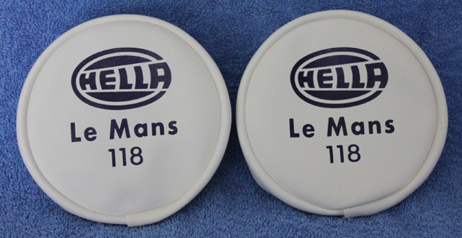 CLASSIC RALLY HELLA LE MANS 118 SPOT LAMP SPOTLIGHT FOG COVERS retro-racer-uk