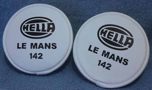 CLASSIC RALLY HELLA LE MANS 142 SPOT LAMP SPOTLIGHT FOG COVERS retro-racer-uk