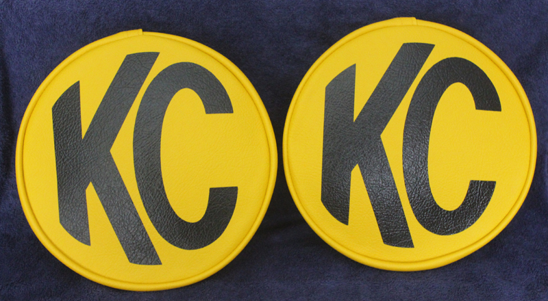 KC DAYLIGHTER 7 INCH SEVEN INCH DIAMETER.