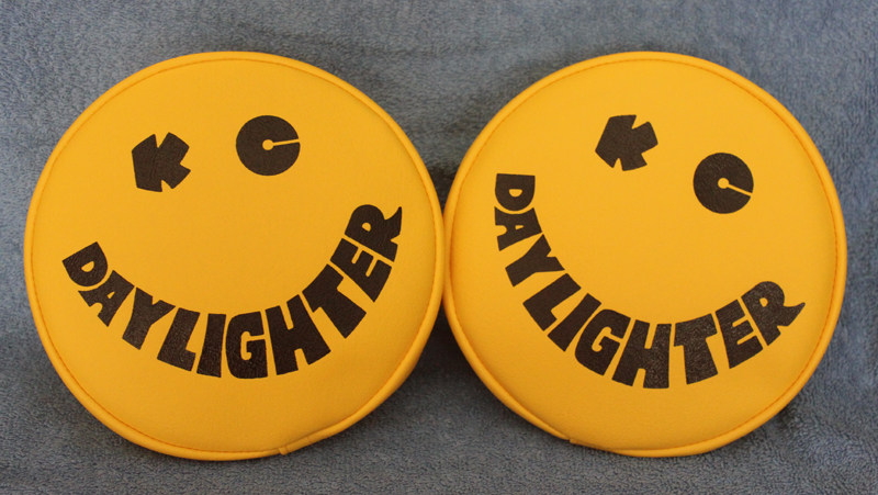 KC SMILEY DAYLIGHTER 7 INCH SEVEN INCH DIAMETER