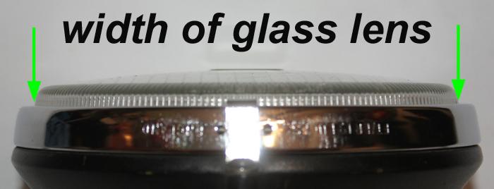 spot lamp lens width retro-racer-uk