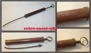 1944 Military World War Two Issue Brass Tool kit Syringe retro-racer-uk