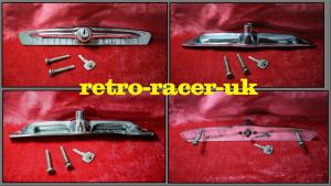 1960s AUSTIN A40 FARINA MK2 REAR BOOT HATCH DOOR HANDLE LOCK KEY retro-racer-uk..