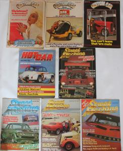 1980s 1982 1983 street machine hot car custom car mag magazine collection for sale