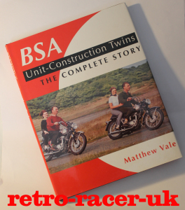 BSA UNIT CONSTRUCTION TWINS THE COMPLETE STORY BOOK BY MATTHEW VALE ISBN 1861266898 CLASSIC BRITISH MOTORCYCLES