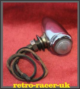 Classic Vintage LUCAS 516 Torpedo Wing Top Side Light Lamp Unit retro-racer-uk MG ROVER ROLLS ROYCE AUSTIN RILEY PRE WAR