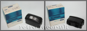 N.O.S 1980s 90s FORD FIESTA REAR NUMBER PLATE LIGHT LAMP UNIT 6112927 GHIA XR2 1.0 1.3 1.6 retro-racer-uk