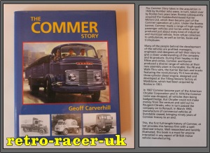 THE COMMER STORY BY GEOFF CARVERHILL BOOK ISBN 1861264917. COMMERCIAL VEHICLES VANS TRUCKS BUSES retro-racer-uk